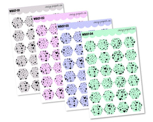 COLOR BUNDLE - Everything Nice Pattern Hexagons (Small)