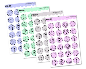 Everything Nice Pattern Scalloped Circles (Small)