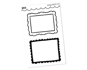 Photo Frame Clear Full Box Overlays