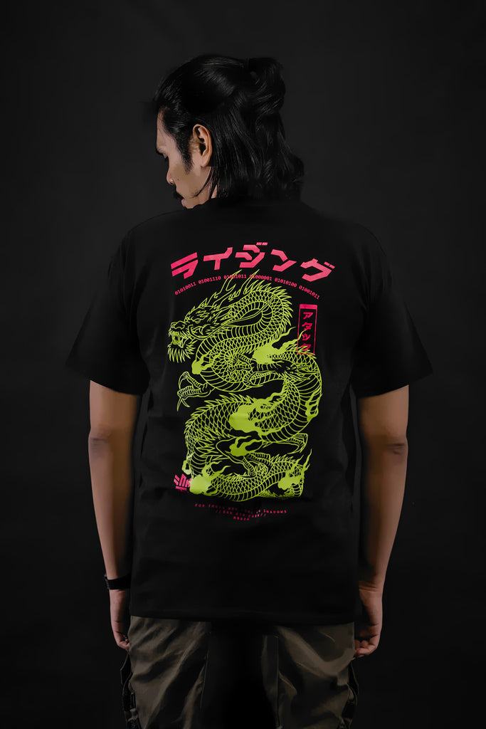 [SOLD OUT] RISING Neon Dragon T-Shirt
