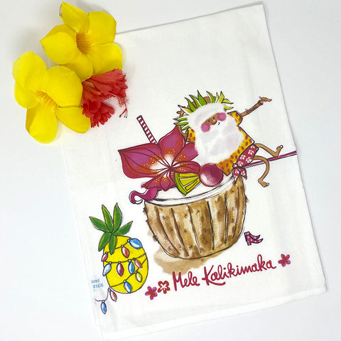 SANTA COCONUT kitchen towel