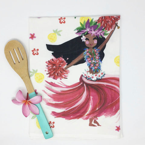 HULA kitchen towel