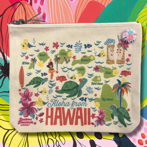 HAWAIIAN ISLANDS pouch