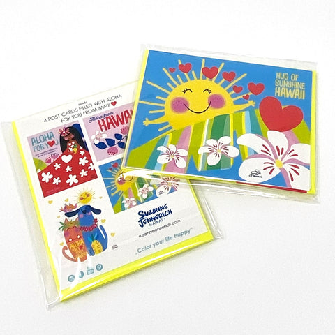 Greeting Card Set - 2 packs