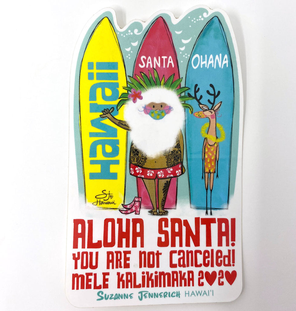 SANTA COFFEE & PANCAKE MIX & STICKER