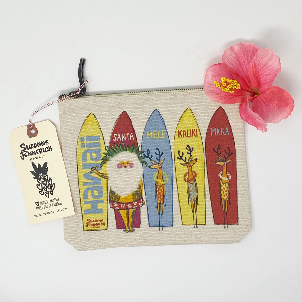 SANTA SURFBOARDS pouch