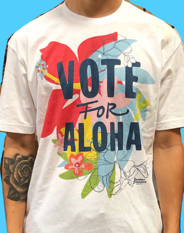 VOTE FOR ALOHA MEN TEE