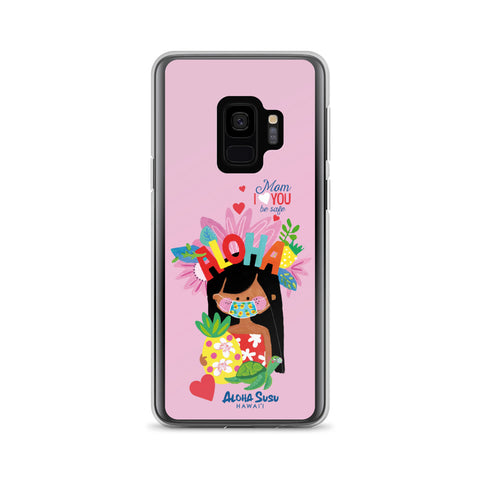 Mom I Love you. Samsung phone case