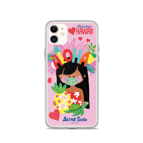 Aloha Susu iphone case