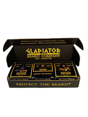 Gladiator Beard Butter Box Set