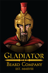 gladiator beard balm oil