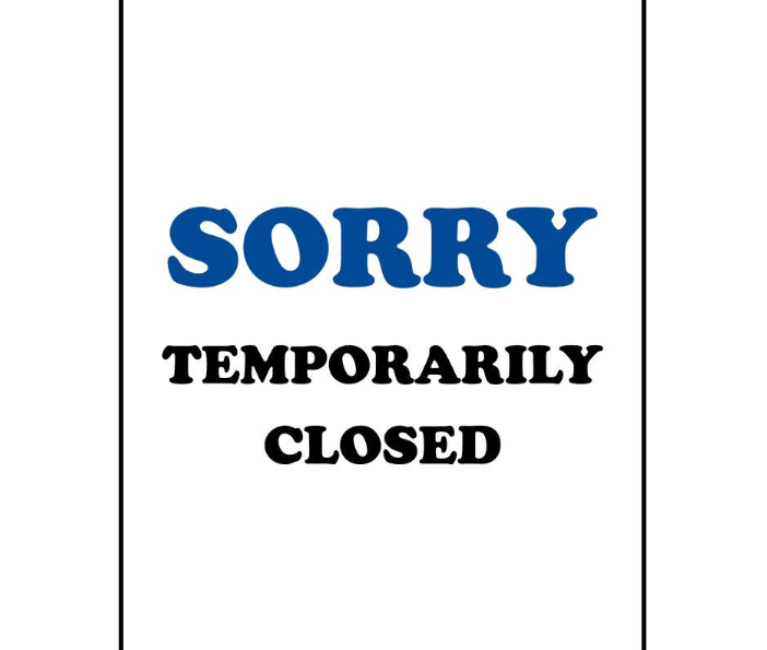 Temporarily Closing Due to COVID-19 through Sunday 3/15.