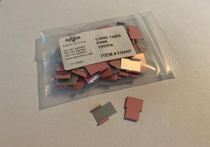 Cane Tabs - ID Tabs (Pink)