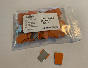 Cane Tabs - ID Tabs (Orange)