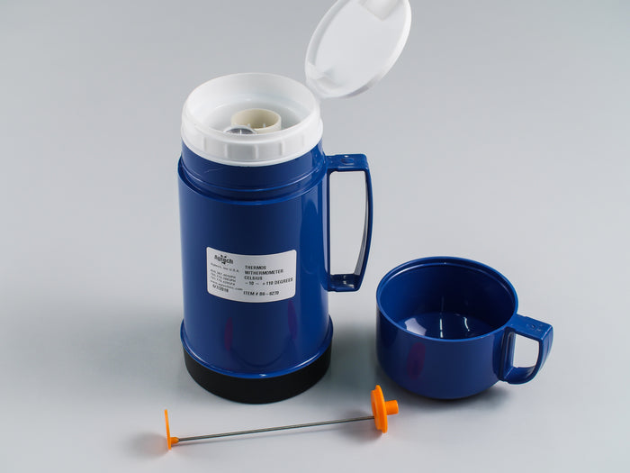 Thermos with Thermometer - Celsius