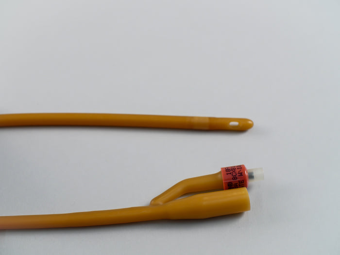 "Latex Catheter 18"" long- 18fr 30cc"