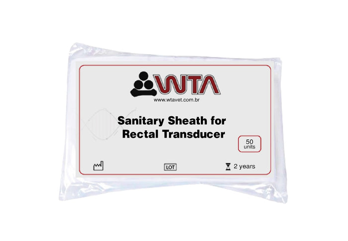 Sanitary Chemise for rectal transducer (WTA)