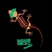 Gecko Bones Glow In The Dark Short Sleeve Black Tee