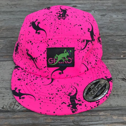 Forever Fuchsia Gecko Five Panel Hat
