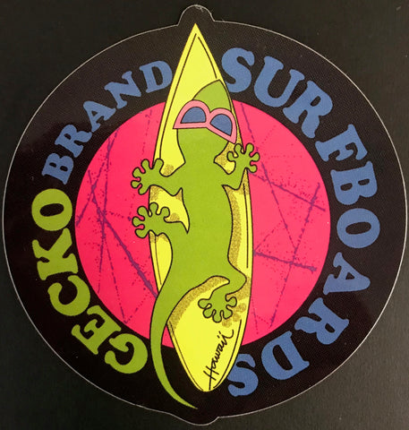 Gecko Surfboards Sticker