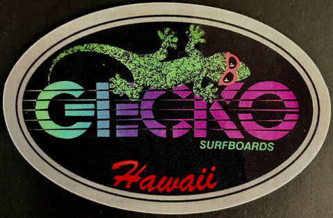 Race Surfboards Gecko Sticker