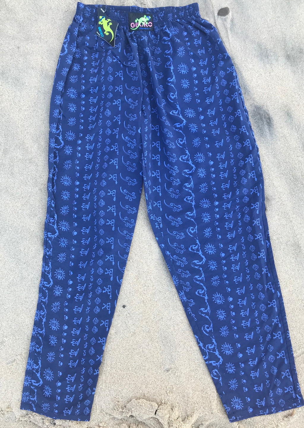Wave Beach Pants Blue