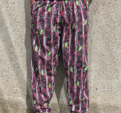 Stripe Gecko Beach Pants