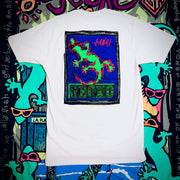 Gecko 3D - White Short Sleeve Tee