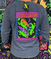 Gecko Surfari Longsleeve Tee Denim
