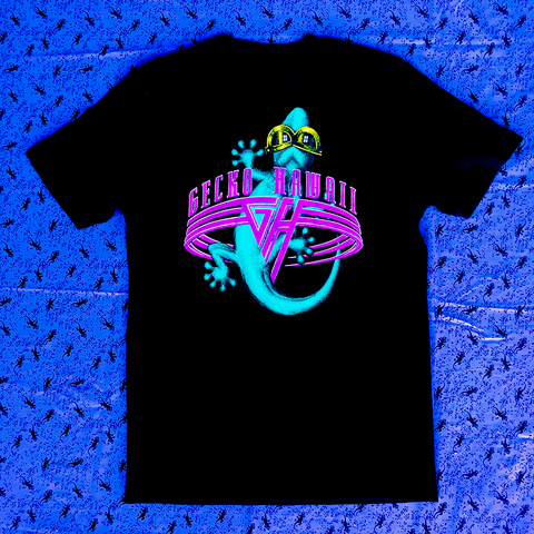 Gecko World - Secret Shirt - Black Short Sleeve Tee