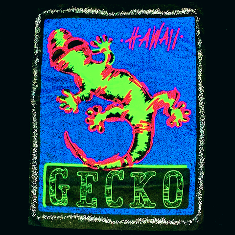 Gecko 3D Long Sleeve - RetroVibe Rock Grey