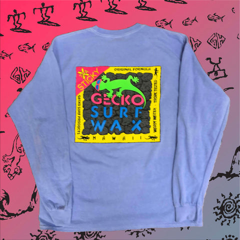 Gecko Surf Wax HYPERFLASH: Blue to White Longsleeve