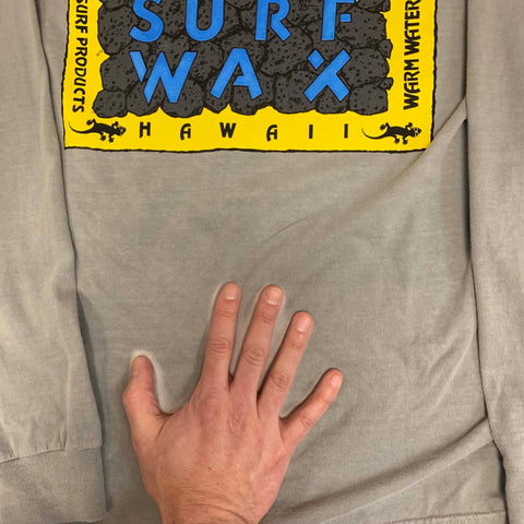 Gecko Surf Wax HYPERFLASH: Grey to White Longsleeve