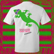 Gecko Hang Loose Tee White (Glow In The Dark!)