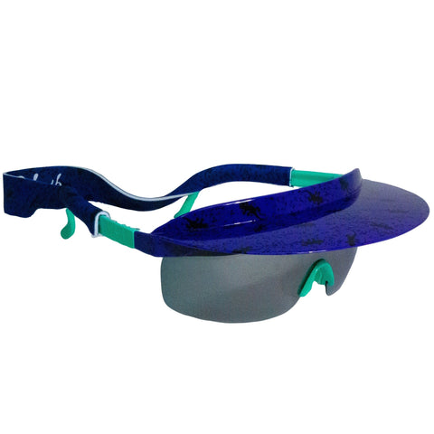 Gecko Visor Shades Purple