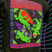 Gecko Surfari KIDS Tee Black