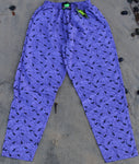 Mini Gecko Beach Pants Purple