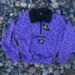 Mini Gecko Windbreaker Purple
