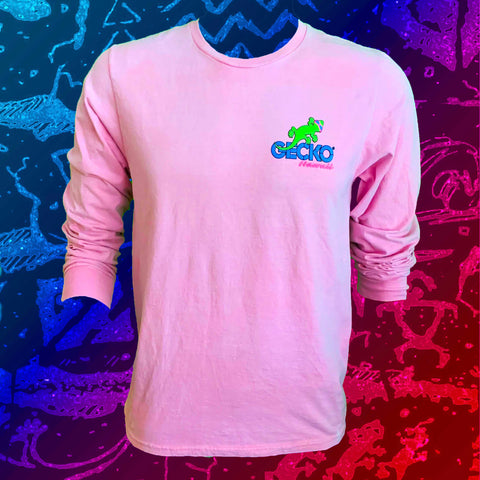 Gecko Marble HYPERFLASH: Pink to Cool White Longsleeve