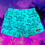 Mint Gecko Petro Volley Shorts