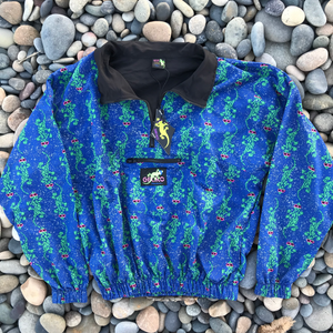Camo Gecko Windbreaker Blue