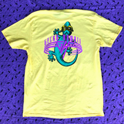 GECKO WORLD - Lemon Freeze Short Sleeve Pigment Tee