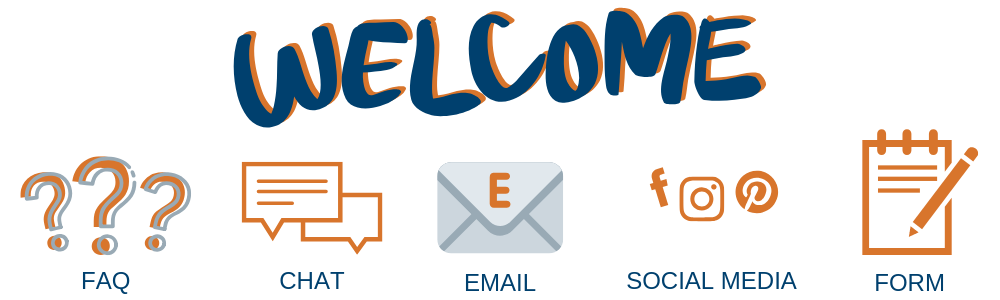 Welcome banner for Lavish Dash Contact page
