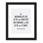 The Meaning Of Life Wall Art