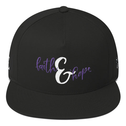 Faith & Hope Flat Bill Cap
