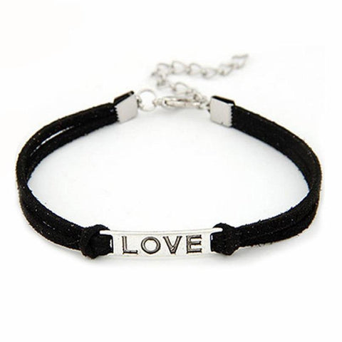 Braided Love Bracelet
