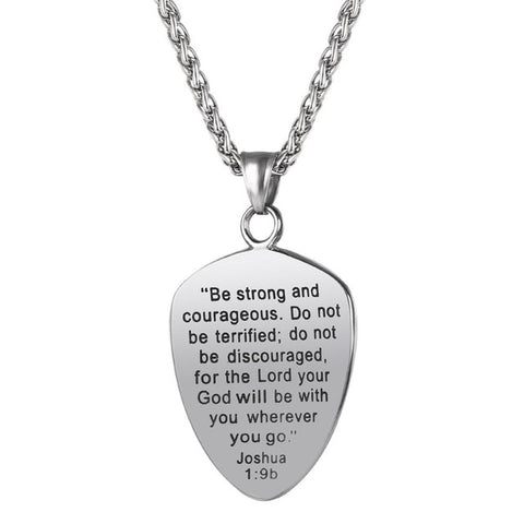 Bible Message Necklace