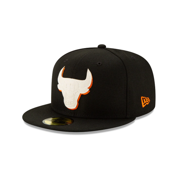 Chicago Bulls Orange Flare 59 Fifty Fitted
