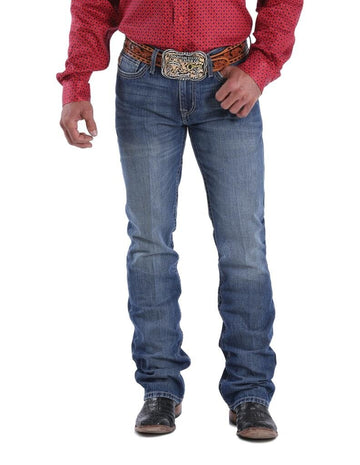 Cinch Western Jeans Mens Ian Bootcut Slim Fit Medium Wash