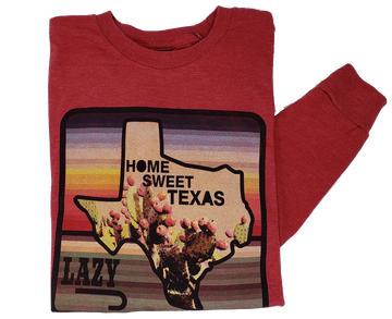 Lazy J Home Sweet Texas Tee